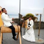 Jousting Groom And Bride